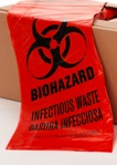 Red Bio Hazard Waste Bags