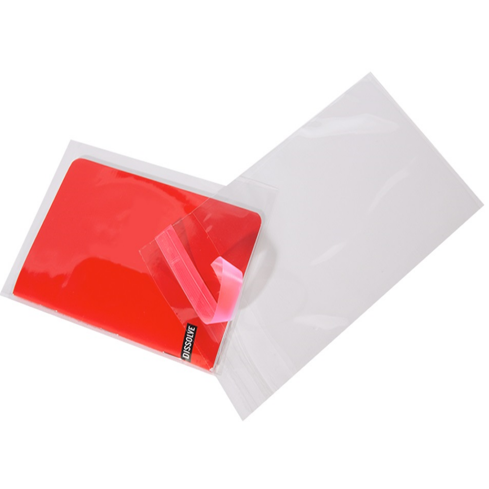 9x12 - 1000/case Postal Approved with peel & seal lip - CLEAR